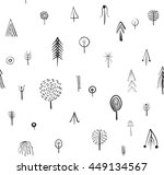 vector seamless pattern with... | Shutterstock .eps vector #449134567