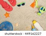 beach hero header | Shutterstock . vector #449162227