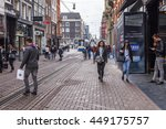 amsterdam  netherlands on march ... | Shutterstock . vector #449175757