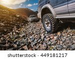off road extreme mountain... | Shutterstock . vector #449181217