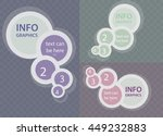 circle elements for infographic ... | Shutterstock .eps vector #449232883