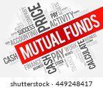mutual funds word cloud collage ... | Shutterstock .eps vector #449248417