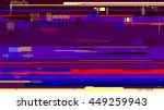 vector glitch background...   Shutterstock .eps vector #449259943