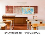 room for teaching geography at... | Shutterstock . vector #449285923