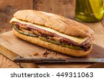 cubanito. traditional cuban... | Shutterstock . vector #449311063