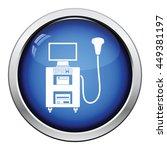 ultrasound diagnostic machine... | Shutterstock .eps vector #449381197