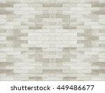 Tiled Brick Wall In Light Sepi...