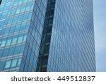 modern facade | Shutterstock . vector #449512837