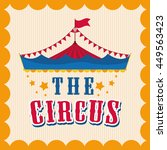 circus and carnival concept... | Shutterstock .eps vector #449563423