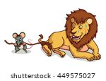 Rat Help Lion From Trap By Bit...