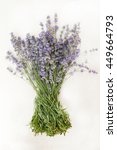 Lavender Bouquet Of White...