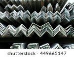 rust steel angle for raw... | Shutterstock . vector #449665147