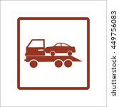 tow truck icon | Shutterstock .eps vector #449756083