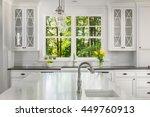 kitchen interior detail in new... | Shutterstock . vector #449760913