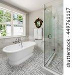 beautiful master bathroom in...   Shutterstock . vector #449761117