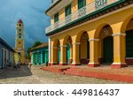 the spanish colonial... | Shutterstock . vector #449816437