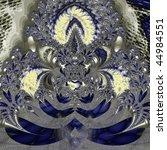 Fractal Of Ancient Floral Design