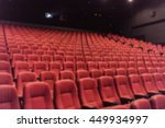 blurred empty red cinema seats... | Shutterstock . vector #449934997