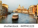Vaporetto At  Grand Canal In...