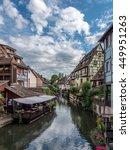 Small photo of COLMAR, ALSACE, FRANCE - CIRCA JUNE 2016: Landmarks of Alsace