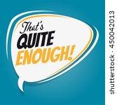 that's quite enough retro...   Shutterstock .eps vector #450042013
