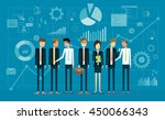 group people business team... | Shutterstock .eps vector #450066343