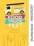 food truck festival menu... | Shutterstock .eps vector #450105247