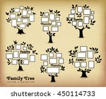 memories tree with picture... | Shutterstock .eps vector #450114733
