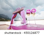 Arch Lilac Color For A Wedding...