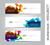 vector design banner background. | Shutterstock .eps vector #450128377