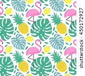 seamless decorative pattern... | Shutterstock .eps vector #450172927
