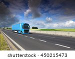 truck on the road | Shutterstock . vector #450215473