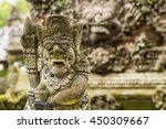 traditional demon guards statue ... | Shutterstock . vector #450309667