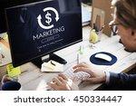 financial trade economics... | Shutterstock . vector #450334447