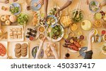 food catering cuisine culinary... | Shutterstock . vector #450337417