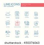 laundry   modern vector simple... | Shutterstock .eps vector #450376063