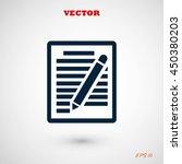 paper vector icon | Shutterstock .eps vector #450380203