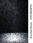 dark background shot of rain... | Shutterstock . vector #450380893