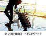 departure lounge at the airport ... | Shutterstock . vector #450397447