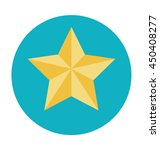 star ornament vector icon | Shutterstock .eps vector #450408277