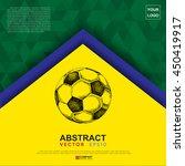 abstract flag colour banner ... | Shutterstock .eps vector #450419917