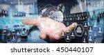 businessman in his office... | Shutterstock . vector #450440107