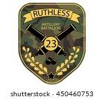 Artillery Military Emblem Patc...