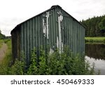Old Shack By The River
