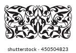 oriental decorative element.... | Shutterstock .eps vector #450504823