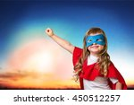 child superhero. | Shutterstock . vector #450512257