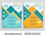 shopping cart web symbol on... | Shutterstock .eps vector #450513343