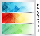 collection of modern banners... | Shutterstock .eps vector #450519577