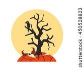 desert drought natural force... | Shutterstock .eps vector #450528823