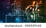 science fiction futuristic... | Shutterstock . vector #450539143